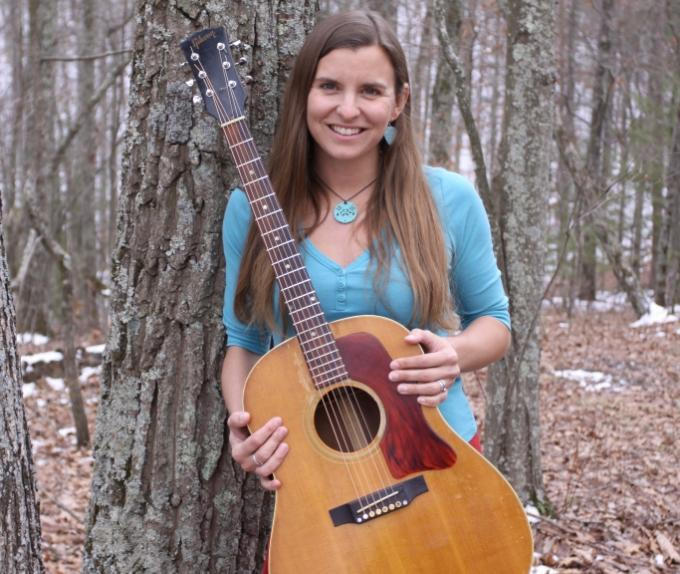 Carla Gover with guitar