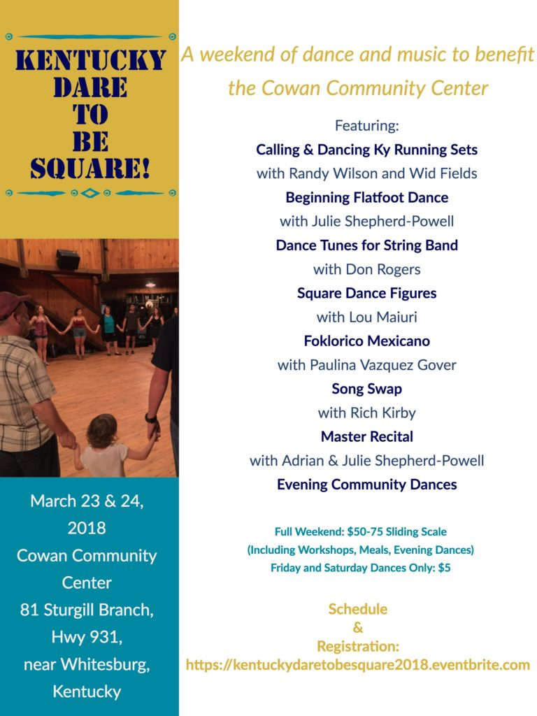Dare to be Square Poster March 23-24, 2018