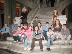 CCMMS Youth Band Performs for KY State Legislature