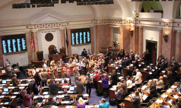Youth Band Performs at KY Legislative Session